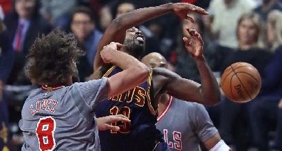 Basket, Nba: riscatto Bulls, Cavs incornati