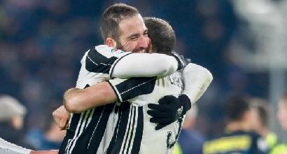 24^ giornata. Cagliari-Juventus 0-2: Higuain, che doppietta! I bianconeri rispondono alla