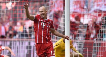 """Robben """"Sto pensando al ritiro"""""""