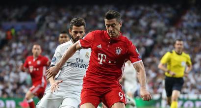 """Bayern, Lewandowski: """"Se fossi stato al 100% contro il Real Madrid, avremmo vinto la Champions"""""""