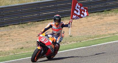 MotoGP, numeri e record del trionfo di Marquez