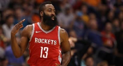 Basket, Nba: Houston allunga ad Ovest, OKC di nuovo sconfitta
