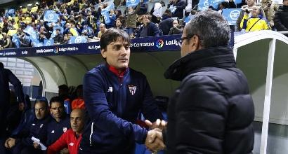 Coppa del Re, bel debutto per Montella: il Siviglia passa 2-0 a Cadice