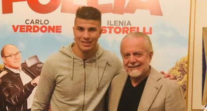 """De Laurentiis annuncia: """"Benvenuto Machach"""""""