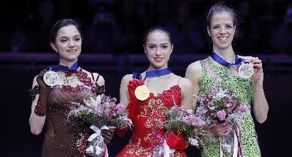 Pattinaggio: Kostner,bronzo Europeo