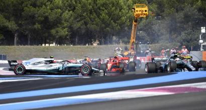 Vettel-Bottas (Afp)