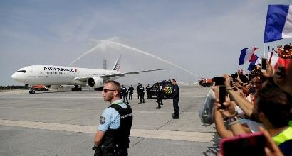 LA NAZIONALE È ATTERRATA ALL'AEROPORTO CHARLES DE GAULLE