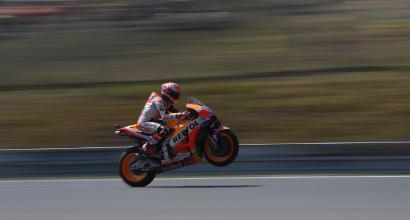 "MotoGP Repubblica Ceca, Marquez: ""Per la gara tengo d'occhio Dovi"""