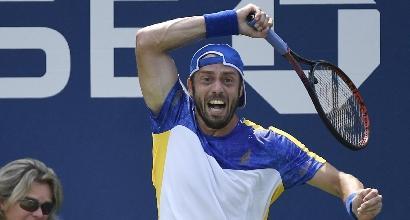 Tennis, US Open: buona la prima per Lorenzi, Sonego, Seppi e Giorgi