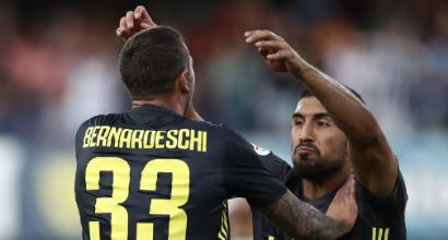 Juventus, si rivedono Bernardeschi ed Emre Can
