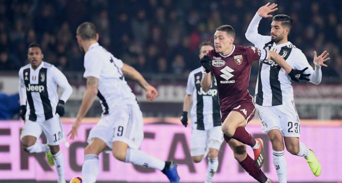 Lega Serie A su Juve-Torino: