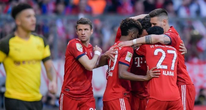 Bundesliga, il Bayern vola in vetta