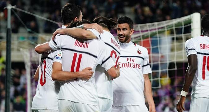 Il Milan espugna Firenze: 1-0