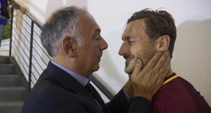 """Non porterò Totti in tribunale"""