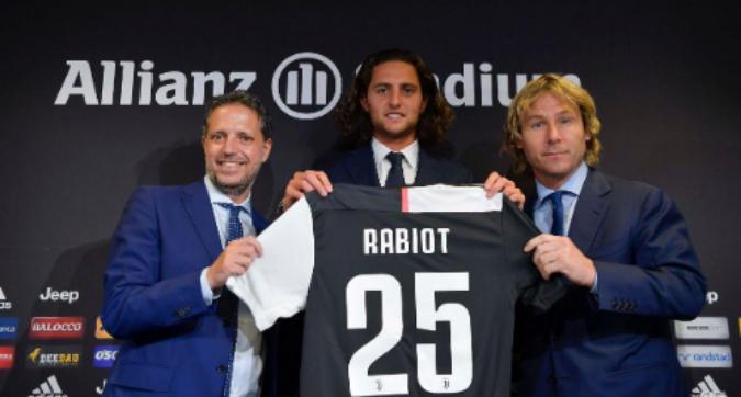 """Rabiot si presenta: """"Juve un gradino sopra al Psg, importanti i consigli di Buffon"""""""