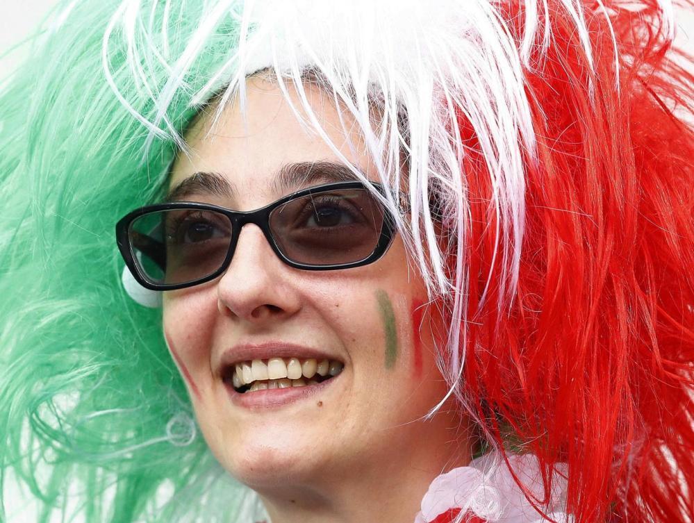 Italia-Spagna sugli spalti