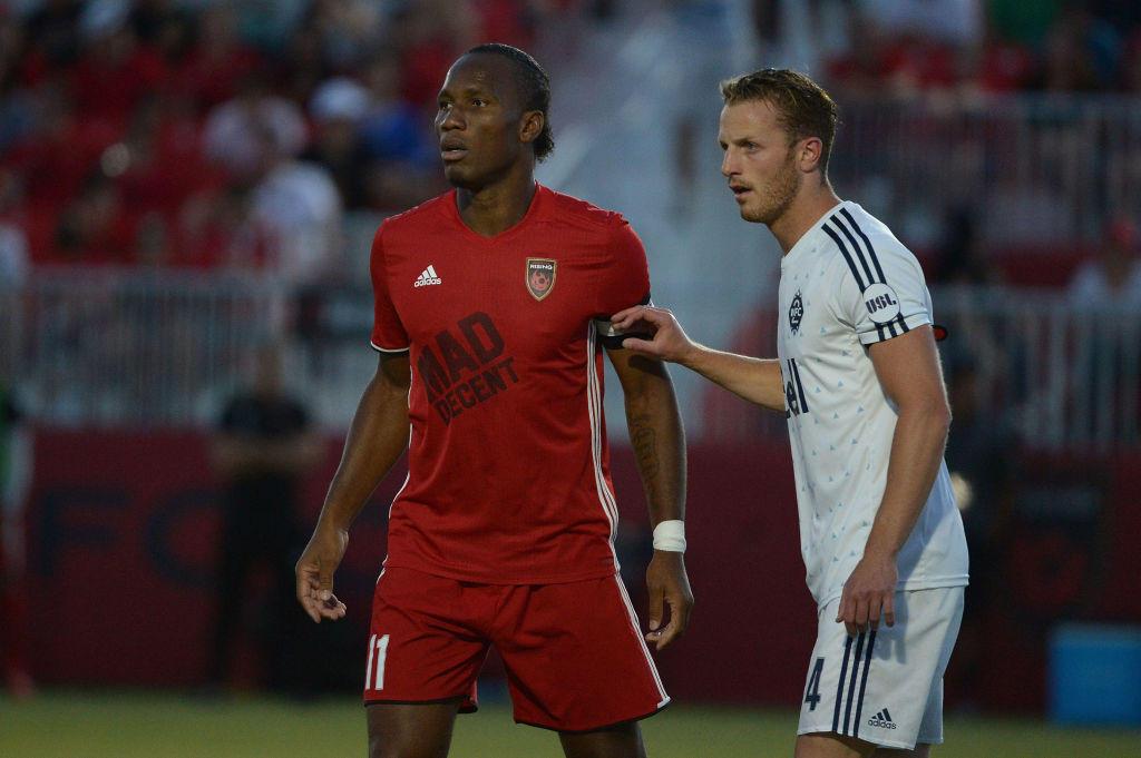Chiusura al Phoenix Rising, seconda divisione della Federazione americana tra Stati Uniti e Canada: 26 presenze e 16 gol