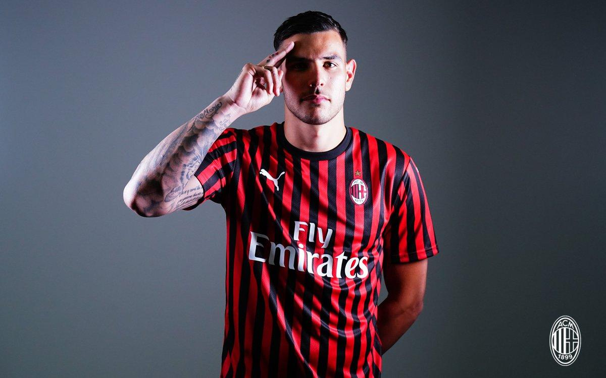 Milan, Theo Hernandez è carico