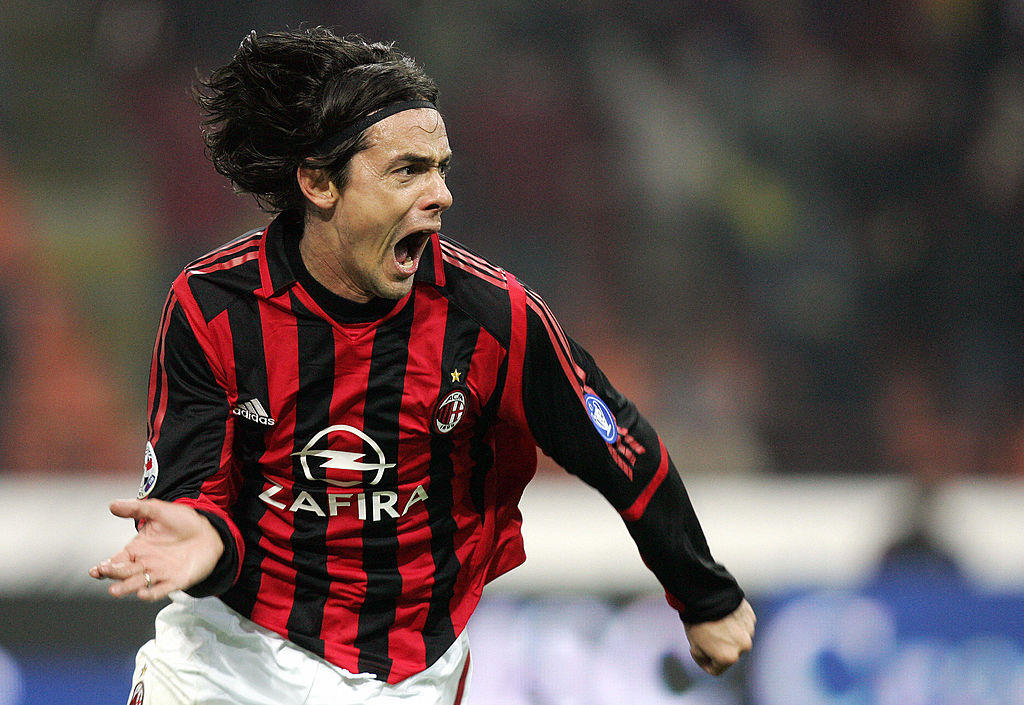 21 - Filippo Inzaghi al Milan (36 mln)