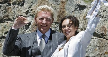 Boris Becker, foto LaPresse
