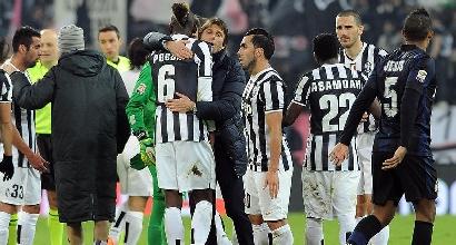 Conte abbraccia la sua Juve (IPP)