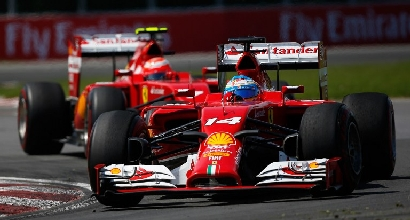 Alonso e Raikkonen (Afp)