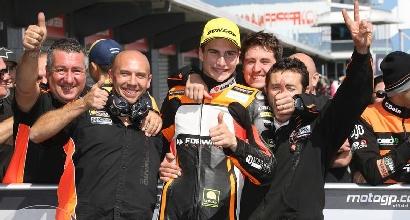 Moto2, GP Australia: vince Rins, primo podio per Baldassarri