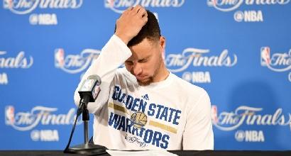Nba, la delusione di Curry. Ma il suo non è un fallimento