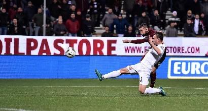 Salernitana, basta Coda. Spezia sconfitto all'Arechi per 1-0