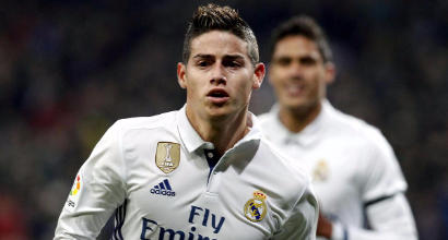 Calciomercato Inter: blitz a Madrid per James