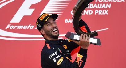 """Ricciardo: """"Ho vinto, non ci credo"""""""