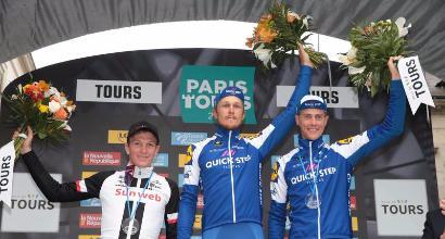 Imbattibile Matteo Trentin! Il ciclista della QuickStep Floors trionfa alla Parigi-Tour