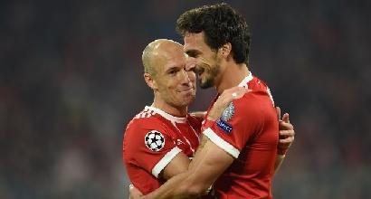 Champions: dilagano Psg e Bayern, Mourinho a punteggio pieno