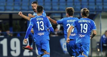 Serie B: Empoli, tris al Pescara e vetta solitaria. Bene anche Frosinone e Palermo