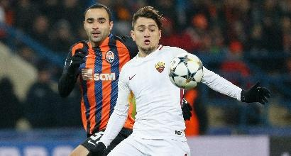 Champions League: Roma-Shakhtar su Canale 5