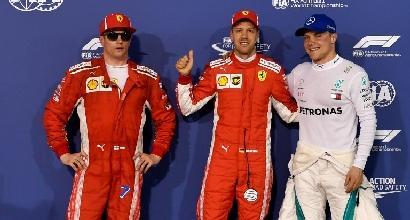 "F1, Vettel: ""Giro pulito, ottimista per la gara"""