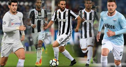 Juve, per Higuain e Costa si ascolteranno offerte: tutto su Milinkovic e Morata