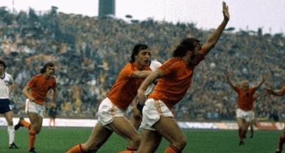 26 giugno 1974 - Olanda-Argentina 4-0, l'Arancia Meccanica del mitico Cruyff