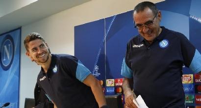 Sarri al Chelsea con Jorginho: la conferma di De Laurentiis