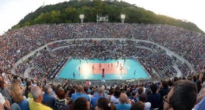 Mondiali pallavolo, il debutto dell'Italia domenica al Foro Italico: si gioca all'aperto