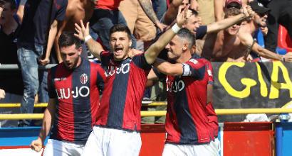Serie A: Bologna-Udinese 2-1, Santander e Orsolini rimontano Pussetto