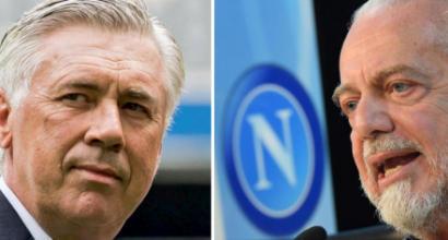 """Napoli, AdL pazzo di Ancelotti: """"Ci sentivamo da anni, accordo in 5 minuti"""""""