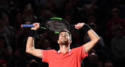 Tennis, Parigi-Bercy: Khachanov trionfa, Djokovic battuto