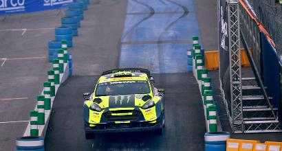 Rally di Monza, Valentino Rossi chiude in testa il primo giorno