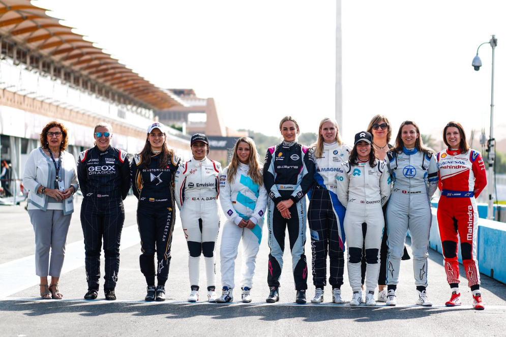Formula E, giornata di test con le donne protagoniste