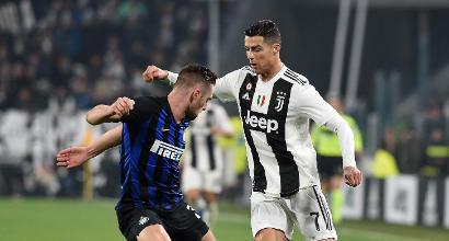 Ronaldo re dei tiratori, Brozovic primo maratoneta, Milan doppio record di spettatori