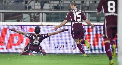 Serie A: doppio Belotti stende la Samp, Torino a -4 dalla Champions