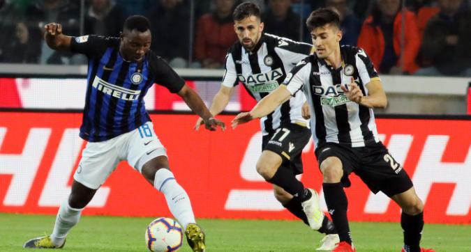 L'Inter frena a Udine: solo 0-0