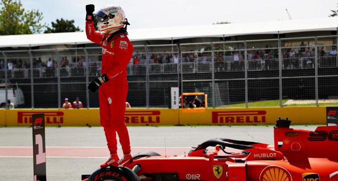 """Ferrari, liberazione Vettel: """"Pieno di adrenalina"""""""
