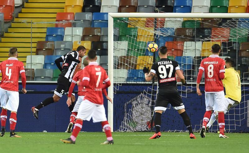 Coppa Italia, l'Udinese ne fa 8 al Perugia